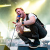 Ricky Wilson of Kaiser Chiefs at Live at Chelsea