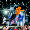 Slim Jxmmi jumping into the crowd - Rae Sremmurd - Wireless Festival